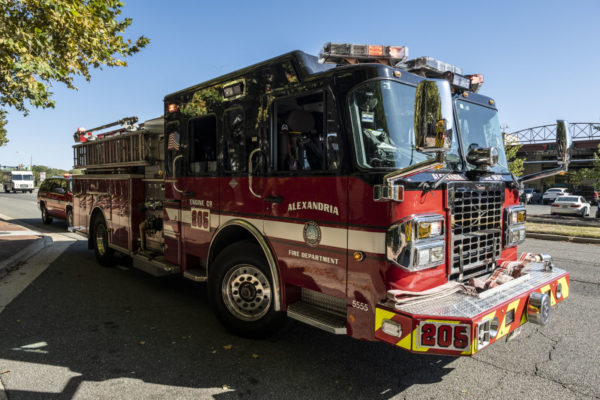 Alexandria fire engine (Staff Photo by Jay Westcott)
