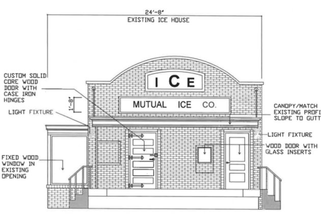 Goos Plans New Frozen Custard Stand at Old Town Ice House ... on luxury home design plans, ice house trailer plans, passive house design plans, pool house design plans, ice fish house plans, hotel design plans, fire house design plans, modern house design plans, homemade ice house plans, 8x16 fish house plans, pig house design plans, master bedroom first floor house plans, tea house design plans, ice fishing shanty plans design, yetti fish house floor plans, tree house design plans, smokehouse design plans, japanese house design plans, portable ice house plans, small house design plans,