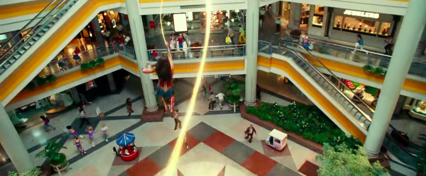 Landmark Mall Lives Again in New Wonder Woman Trailer   ALXnow - Alexandria  Now