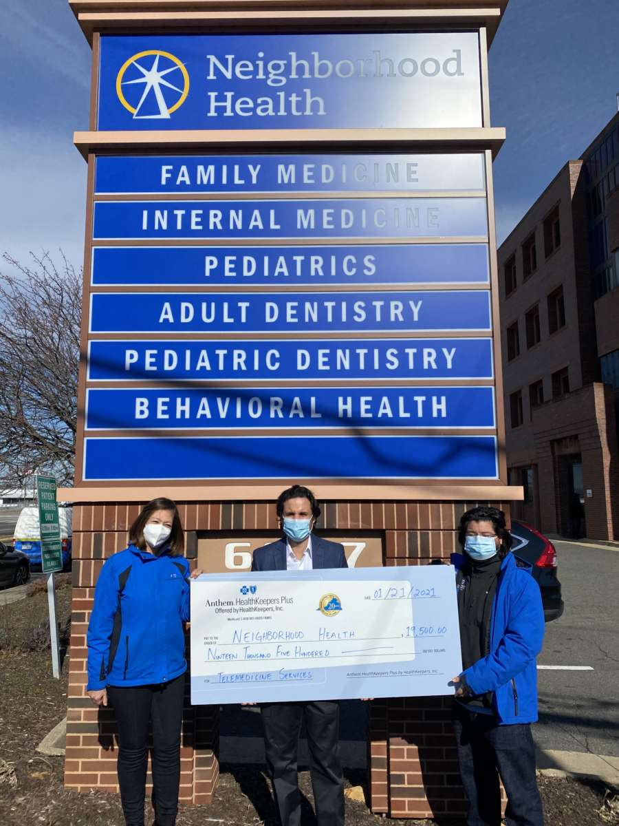 Neighborhood Health Receives $20K Donation for ...