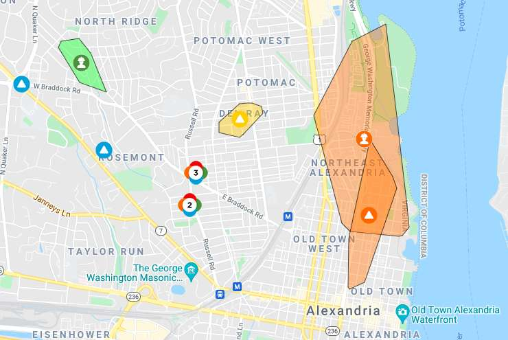 NEW: Thunderstorm takes out power for thousands in Alexandria