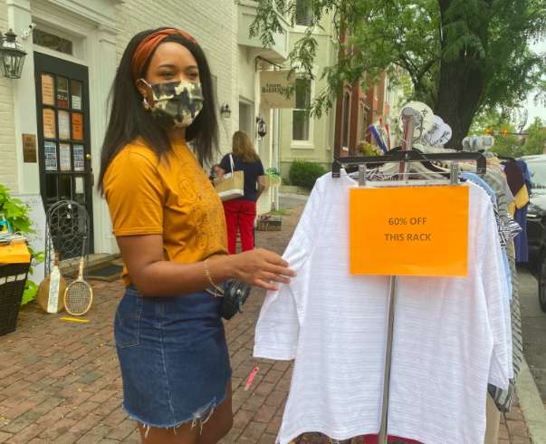 August sidewalk sale on track to be largest in city history